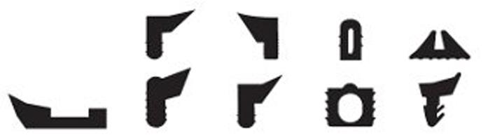 Profili Geometrici E A Disegno In Gomma Fip Articoli Tecnici Padova